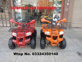 Tubeless Tires Reverse Gear Luxury Atv Quad  Bike Deliver In All Pak