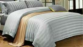 Bedcover set sprai sutra import mewah , berbagai motif dan ukuran