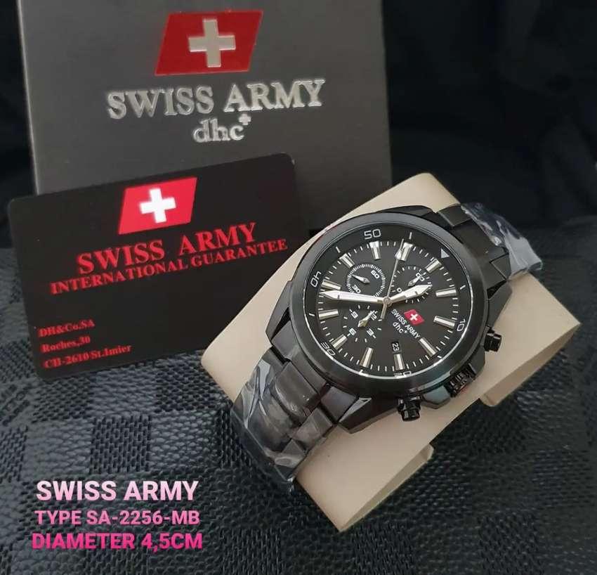 Swiss Army DHC+ SA 2256 Black Original 0