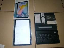 Jual Samsung Tab S6 Lite + Keyboard Targus