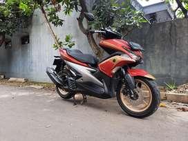 Yamaha Aerox S 2019 Abs Keyless Sss Merah Doff Terawat