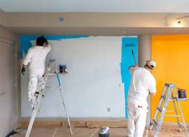 Paint Contractor, Paint work, Rock Wall, False Ceiling, Polish Work