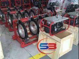 Mesin Las HDPE, Manual 4 Clamp With Press.Gauge SUD 200/40 MZ4B Murah
