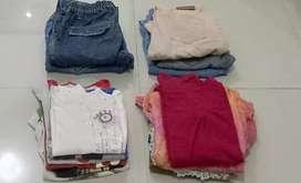Obral murmer baju wanita lengan panjang maupun pendek dan celana jeans