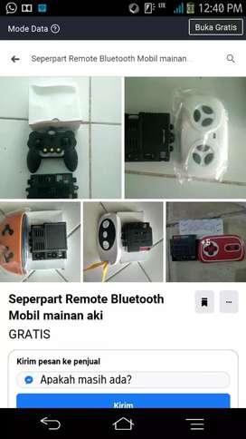 Remote Bluetooth Dan Receiver 12V Mobil mainan aki