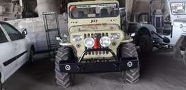Military disposal jeep