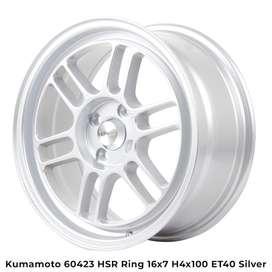 forum model KUMAMOTO 60423 HSR R16X7 H4X100 ET40 BRILIANT SILVER
