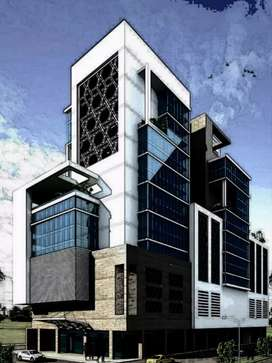 Shahrah e Faisal 1500 Yards Commercial Property For Rent