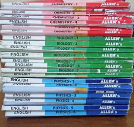 Allen Medical Modules with handbooks and test papers
