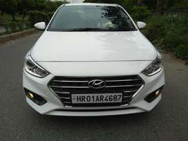 Hyundai Fluidic Verna 1.6 CRDi SX AT, 2018, Diesel
