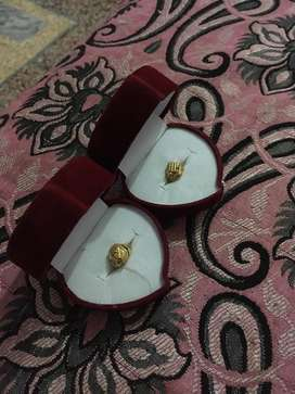 2 small baby boy rings