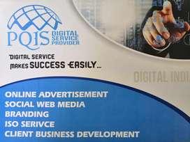 Need Website,Visiting card,Notice,Poster Design's (In Digital format)