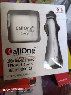 2amp 3in one charger for I phone 5