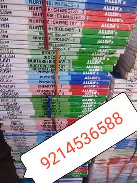 Allen Kota neet IIt study material book's