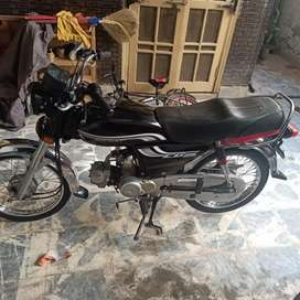 Cd 70 bike for sale good condition