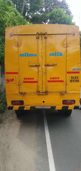 Milk van for commercial use
