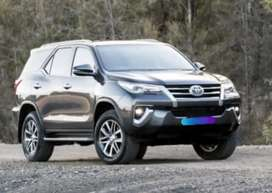 Toyota Fortuner on Easy monthly installments