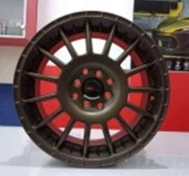 Velg-hsr wheel Ring-16-HSR-Arrow-16X7-Hole-8X100-114-Et-45.-Brown