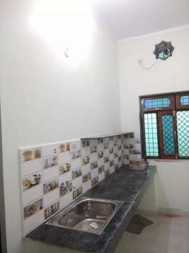 2bhk room and sperated bathroom.
