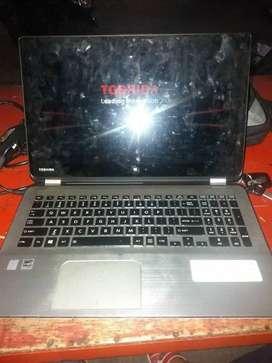 Laptop Thosiba Layar Sentuh
