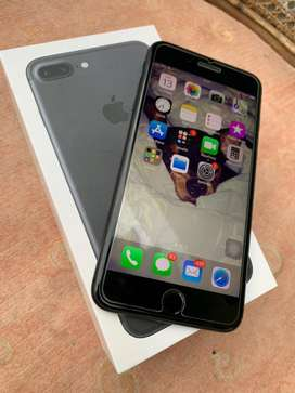 iPhone 7 Plus 128GB BlackMatte Mulus!