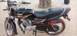 Yamaha ybz 125 excellent condition only 10700klm chala ha