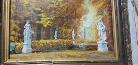 old oil Beautiful painting for sale