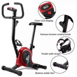 Exercise Bike Cycling Cardio Aerobic Fitness Gym Red