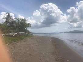 Jual tanah pinggir pantai