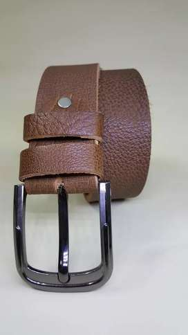 Genuine cow leather belts