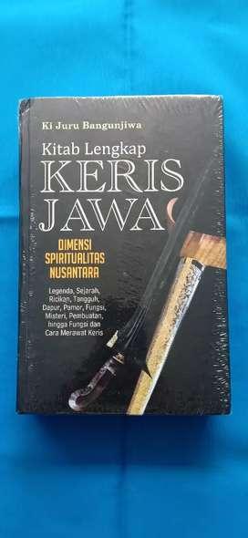Buku Kitab Lkp Keris Jawa hal.Tebal dan Berwarna