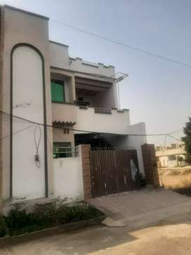 Double storey 5.5 marla furnished house for rent.