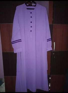 Gamis akhwatiy ungu