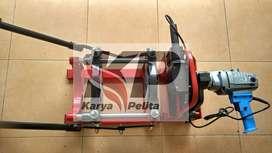 gudang mesin penyambung pipa hdpe tipe manual dan tipe hydraulic