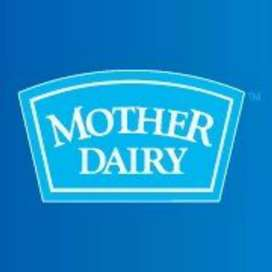DIRECT JOINING IN MOTHER DAIRY COMPANY JOB.