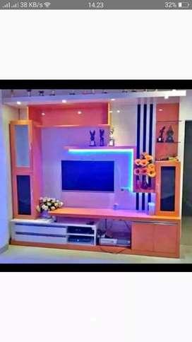 Kitchen set, minibar, almari bawah tangga, dll