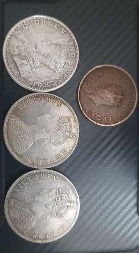 Coins British Era