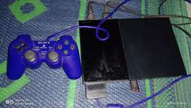 Ps2 game with pen drive n one new remote