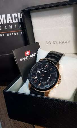 Jam Tangan Pria Brand Swiss Navy Ori