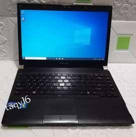 Laptop. toshiba Portege R830 siap COD kirim langsung garansi