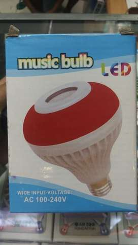 LED Music Bulb - Bohlam LED speaker