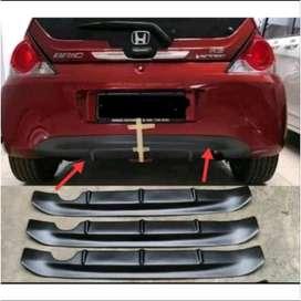 Jual rear garnish bumper/diffuser  honda Brio