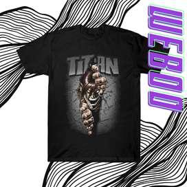 Jual Kaos Attack On Titan Murah - Harga Terbaru