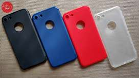 SOFTCASE MATTE SILICONE IPHONE 7/8, 7 PLUS/8 PLUS - MURAH, READY ANTAR