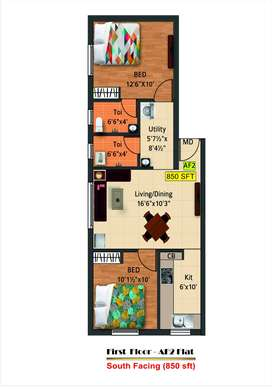 First Floor 2 Units available