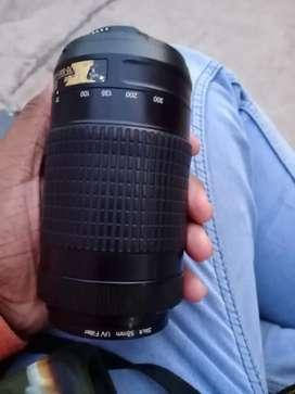 Nikon long lenes