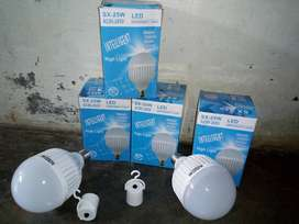 bola lampu led emergency 25 watt