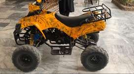 ATv bike in fully new condition with modified accesorries