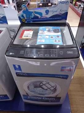 mesin cuci 1 tabung top loading, bisa kredit tanpa Dp tanpa survei