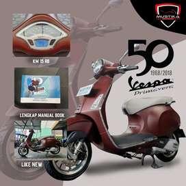 Vespa Primavera 150i-get Anniversary Edition 2019, Mustika Motoshop